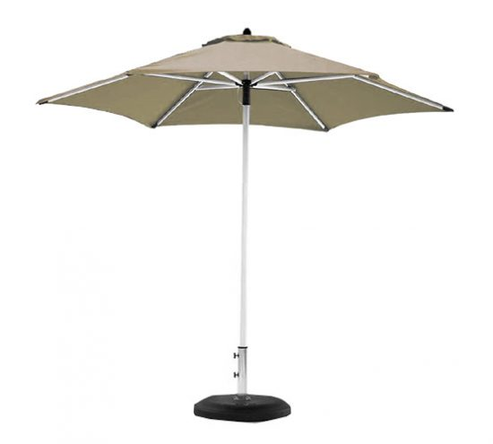 Sombrilla alta sunbrella beige eclipse