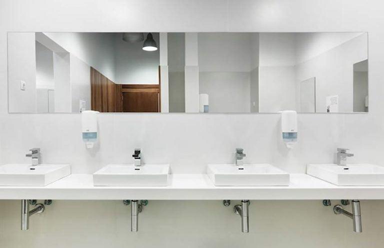 Lavabos y cubiertas corian blanco granito monterrey