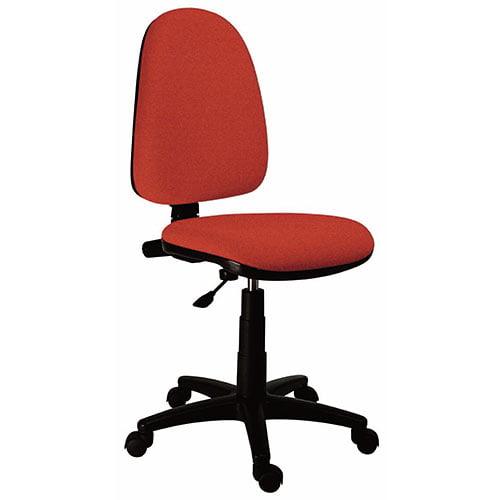 Silla operativa rojo con ruedas oficina treck operativa uso industrial