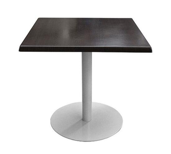 Mesa estratificada color oscuro mesa industrial