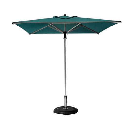 Sombrilla alta sunbrella verde eclipse
