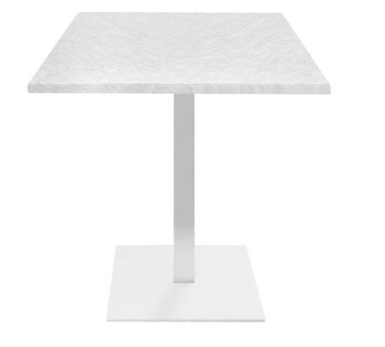 Mesa estratificada color blanco mesa industrial