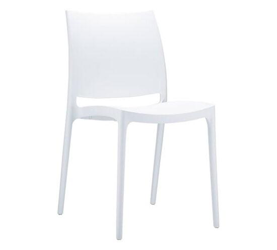 silla polipropileno para comedores comerciales