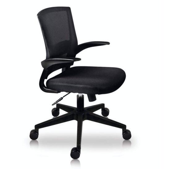 silla oficina color negro economica texas proyest