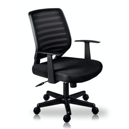 silla ejecutiva economica barcelona negro proyest