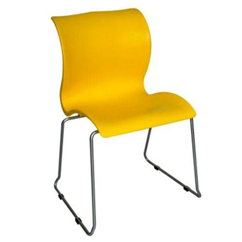 silla economica plastica para cafeterias y comedores