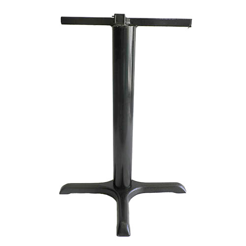 Base pedestal cruz mediana color negro para mesas
