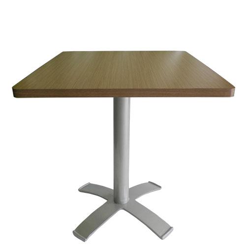 Mesa para cafeterias y comedores industriales metal y laminado plastico