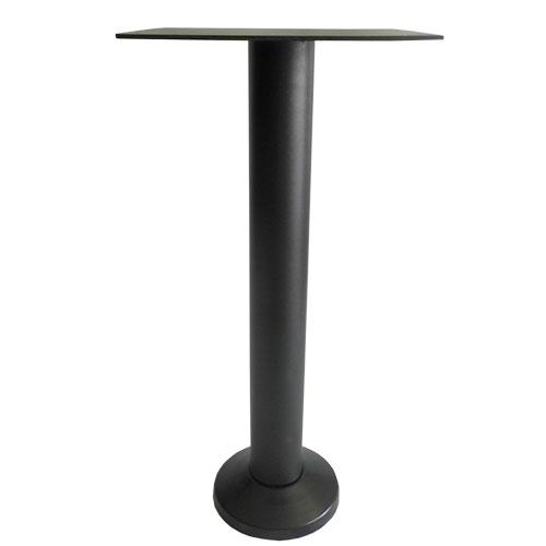 base pedestal fija para mesas