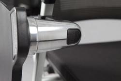 Silla TOP capacitación con paleta base blanco y negro