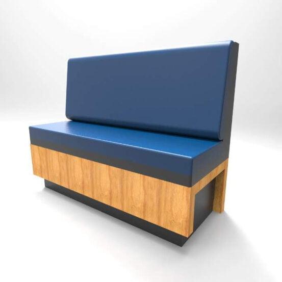 Fabricacion de booths asientos para restaurantes y cafeterias en monterrey mexico
