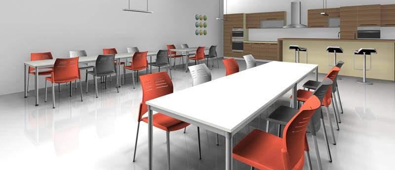 Mobiliario Industrial para comedores y cafeterías