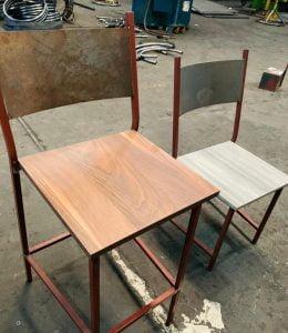 de silla o banco a fabricar