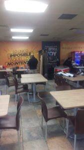 Sillas y mesas para cafeterias y comedores industriales silla ritmo cafe