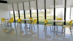 sillas y mesas para comedores y cafeterias