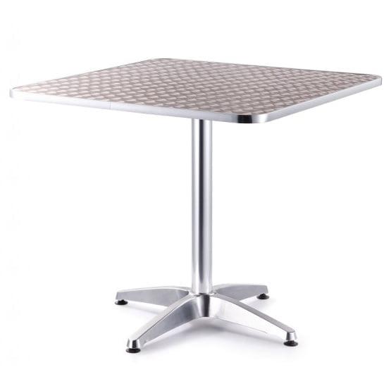 mesa aluminio para exteriores grande